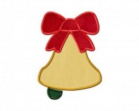 Christmas-Bell-Applique-6-Inch