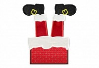 Santa-Chimney-Feet-Applique-6X10-Hoop