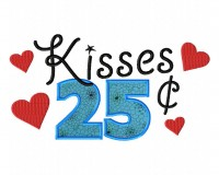 Kisses-25-Cent-6X10-Hoop