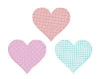 Texured-Heart-Design-Pack-II
