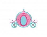 Princess Carriage Stitched 5_5 Inch
