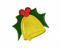Bell-and-Mistletoe-Applique-5_5-Inch