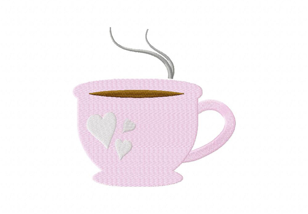 Morning Brew Machine Embroidery Design