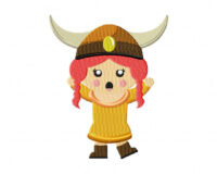 Viking Girl 6 Inches