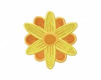 Sunshine-Flower-Applique-5x7-Inch