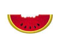 Watermelon-Chewed-Applique-5x7-Inch