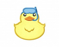 Rubber-Duck-Scuba-Applique-5x7