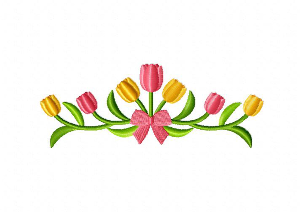 Tulip Border | Joy Studio Design Gallery - Best Design
