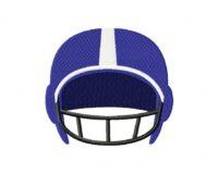 FootballHelmetBlue 5_5 in