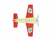 Flying-Stars-Plane-(Z)-Applique-5x7