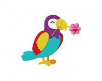 ParrotFlower 5_5 in