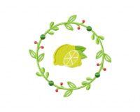 LemonWreathLemon Wreath 5_5 in