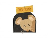 Welcoming Brown Mouse 5_5 in