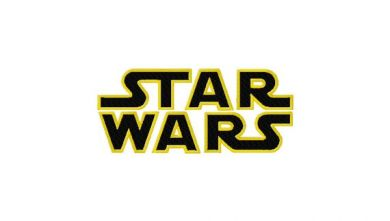 star wars machine embroidery font